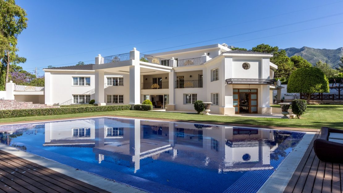 Villa on Marbella's Golden Mile, a rare find