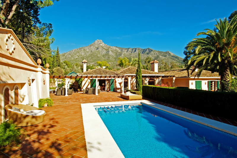 Marbella Hill Club, Villa for sale