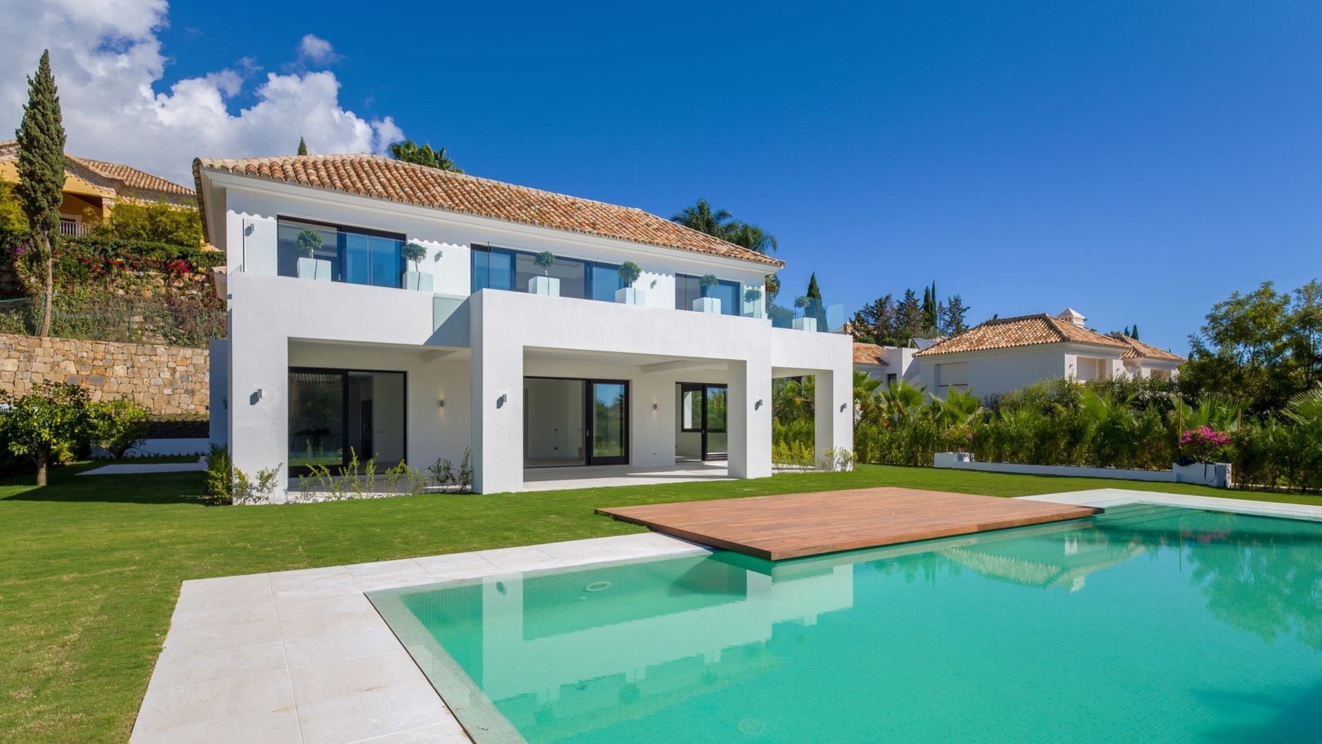 Marbella second home rich famous
