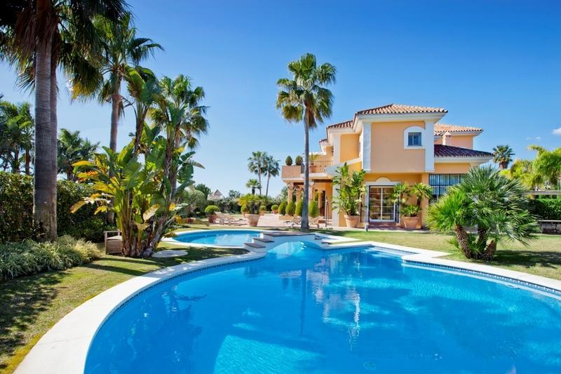 A truly unique villa in Bahía de Marbella