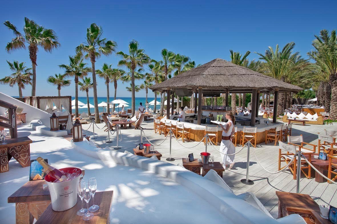 The exclusive renowned Nikki Beach is represented in Marbella!