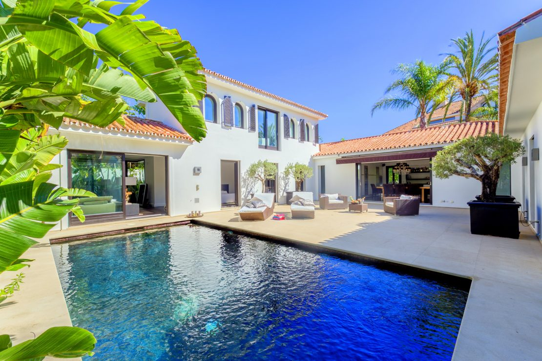Beautiful living in the legendary Los Monteros