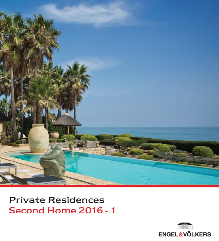 Engel & Völkers Second Home Private Residences 2016 catalogue