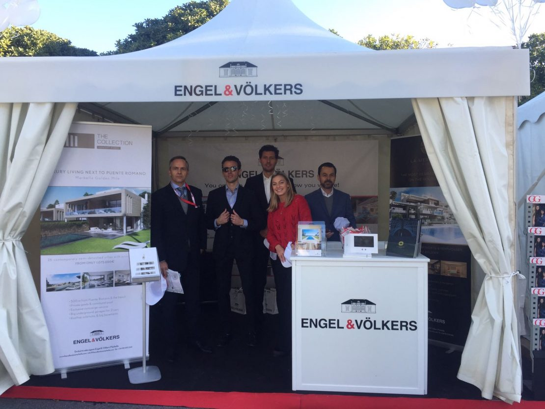 Engel & Völkers Marbella presented as one of the sponsors for the Davis Cup 2018