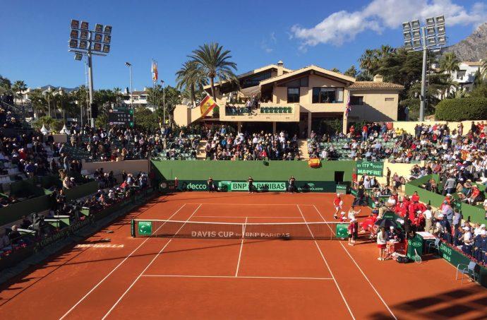 the Davis Cup 2018 Marbella