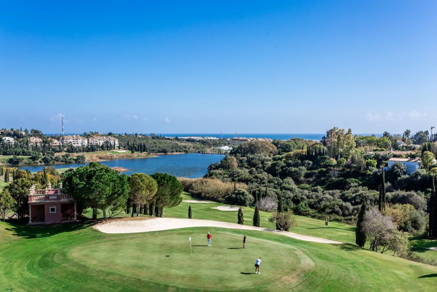 Golf courses in Benahavís