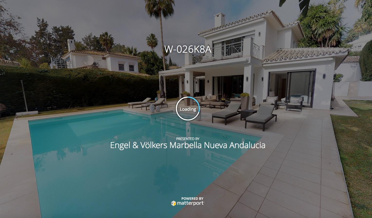 Virtual tour de una villa en Marbella