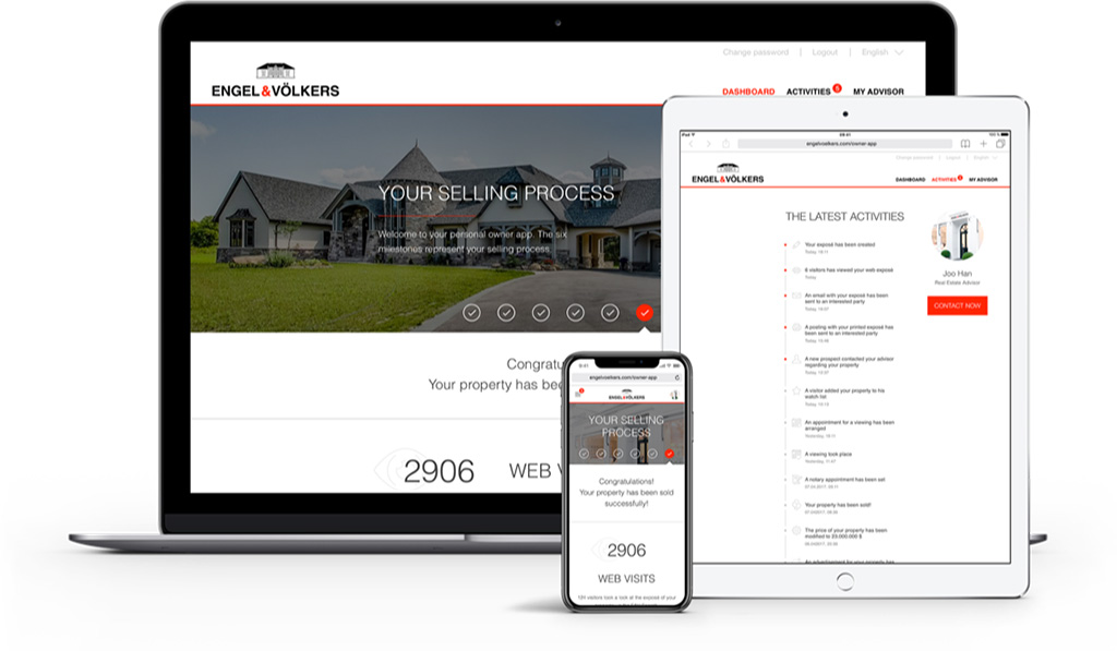 Owner App exlusive service