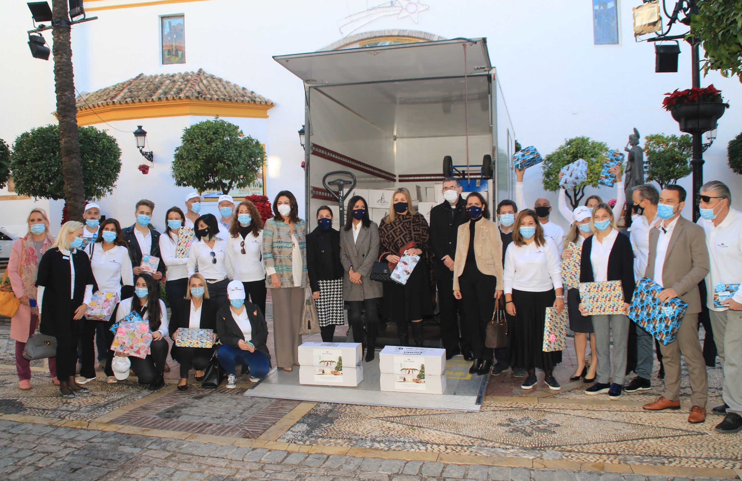 Engel & Völkers Marbella donates 9 tons of food
