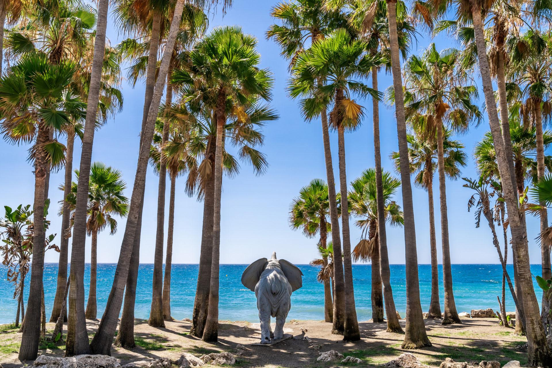 Marbella West beach