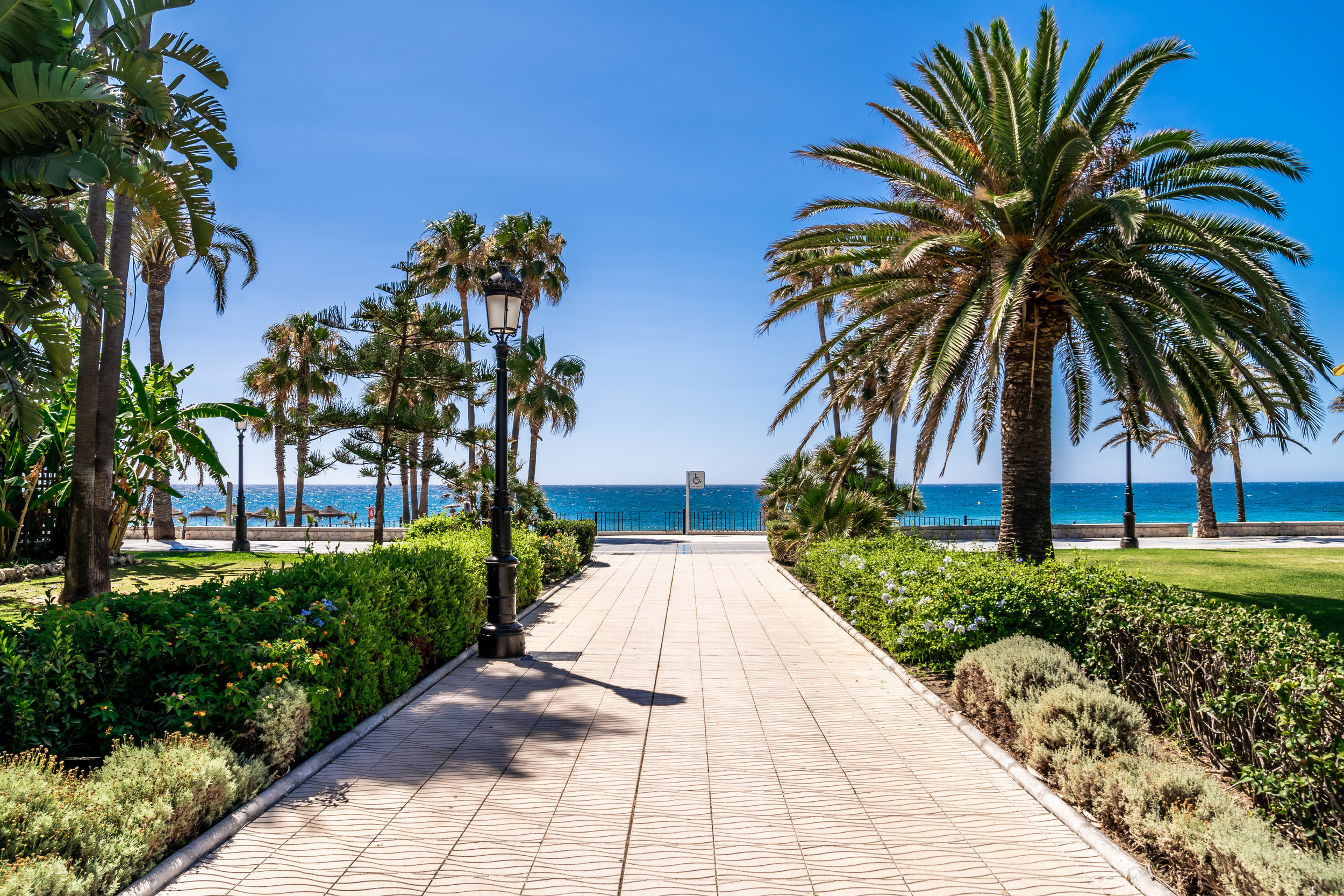 San Pedro de Alcantara playa